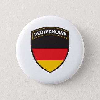 Black Shield Deutschland 6 Cm Round Badge
