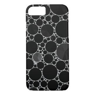 Black Shiny Bling Pattern iPhone 8/7 Case