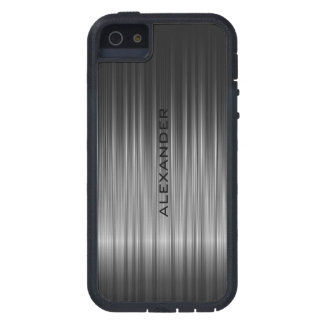 Black Shiny Carbon Fiber Look iPhone 5 Cover