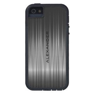 Black Shiny Carbon Fiber Look Tough Xtreme iPhone 5 Case