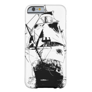 Black Ship Silhouette Barely There iPhone 6 Case