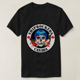 Black Shiprockers Canada T-Shirt