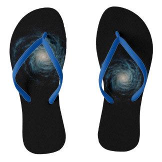 black shoes thongs
