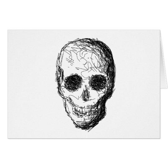 Black Skull. Card