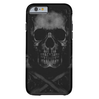 Black Skull iPhone 6 Tough Tough iPhone 6 Case