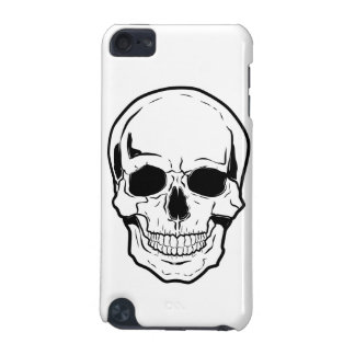 Black Skull Laughter iPod Touch (5th Generation) Cases