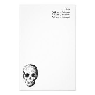Black Skull. Stationery