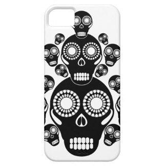 Black Skulls White iPhone 5 Case