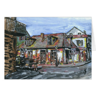 Black Smith Shop Note Card