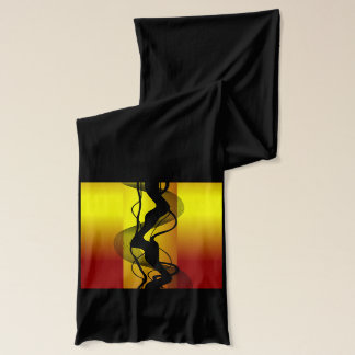 Black Smoke Scarf