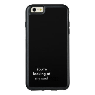 black soul OtterBox iPhone 6/6s plus case