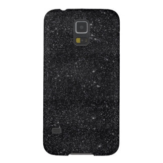 Black Sparkles Galaxy S5 Cover