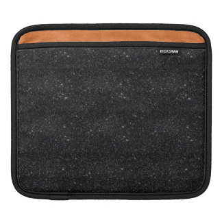 Black Sparkles Sleeves For iPads