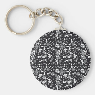 Black Sparkles Keychain