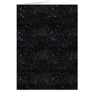 Black Sparkles Note Card