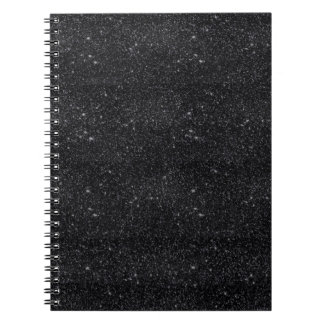 Black Sparkles Notebook
