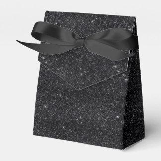 Black Sparkles Party Favour Boxes