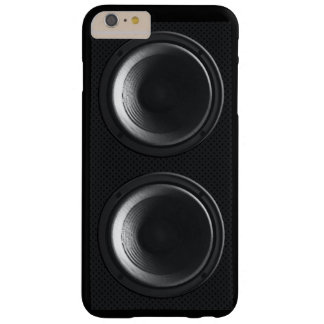 Black Speakers iPhone6 Plus Case Barely There iPhone 6 Plus Case