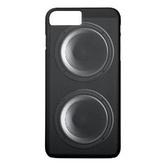 Black Speakers iPhone 7 Plus Case