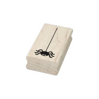 Black Spider Halloween Craft Rubber Stamp