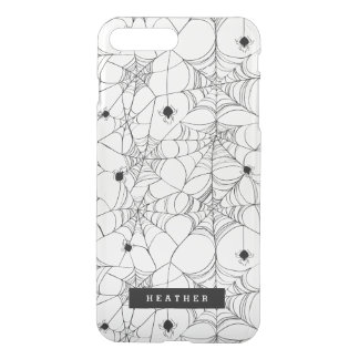 Black Spider Web Halloween iPhone 8 Plus/7 Plus Case