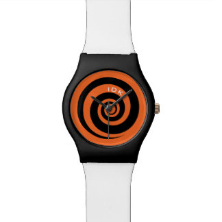 BLACK SPIRAL | hypnotic time Watch