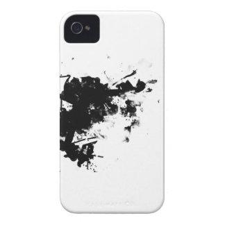 black splatter iPhone 4 Case-Mate cases