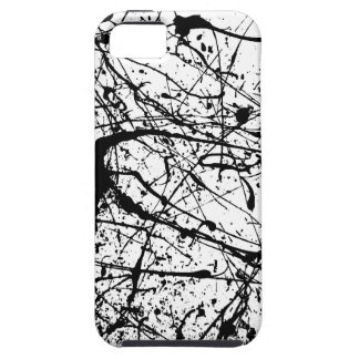 Black Splatter iPhone Case-Mate Vibe Case