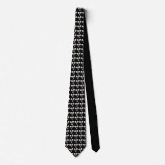 Black Sporty Necktie