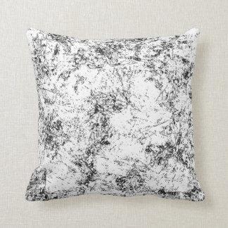 Black Spots Throw Pillow