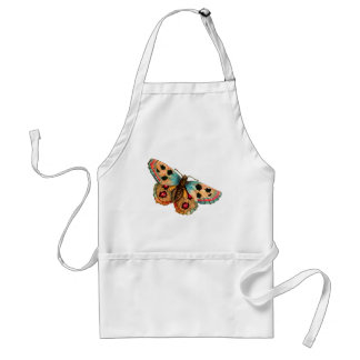 Black Spotted Butterfly Aprons