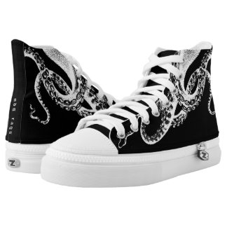 Black Squid High Tops
