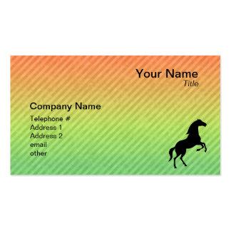 Black Stallion Business Card
