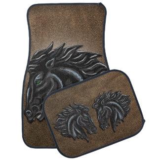 Black Stallion Car Mat