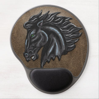 Black Stallion Gel Mouse Pad