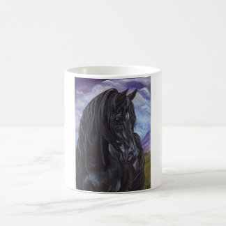 BLACK STALLION HORSE Mug