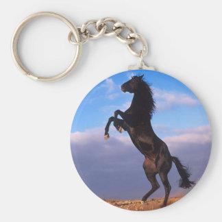 Black Stallion Key Chain