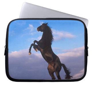 Black Stallion Laptop Sleeve