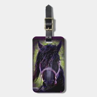 Black Stallion Tags For Luggage