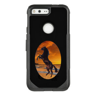 Black Stallion OtterBox Commuter Google Pixel Case