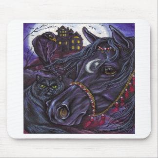 BLACK STALLION Persian Cat Mousepad