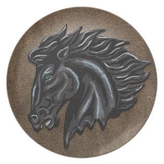 Black Stallion Plates