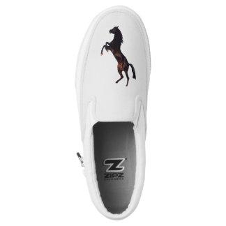 Black Stallion Printed Shoes