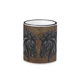 Black Stallion Ringer Mug