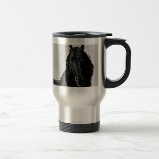 Black Stallion Travel Mug