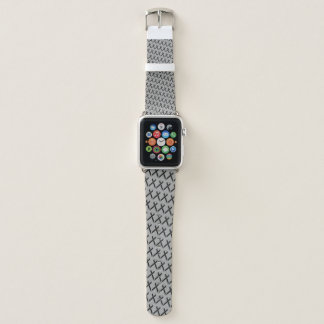 Black Standard Ribbon by Kenneth Yoncich Apple Watch Band
