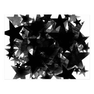 Black Star Frenzy Postcard
