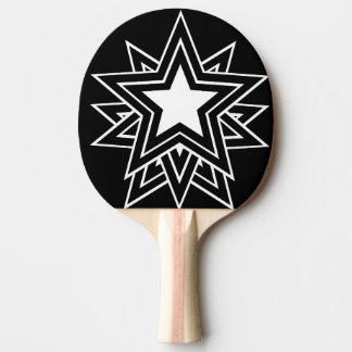 black star ping pong paddle