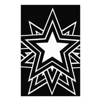 black star stationery