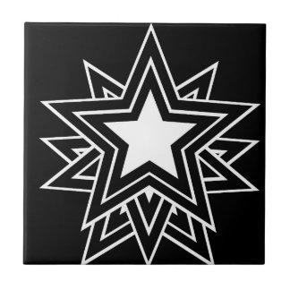 black star tile